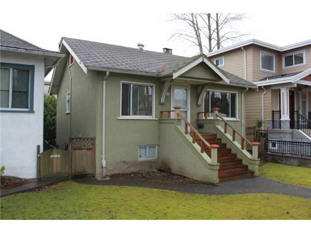 Main Photo: 3539 W 10TH Avenue in Vancouver: Kitsilano House for sale (Vancouver West)  : MLS® # V931077