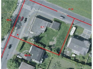 Main Photo: 4343 Tyndall Avenue in VICTORIA: SE Gordon Head Vacant Land for sale (Saanich East)  : MLS® # 267885