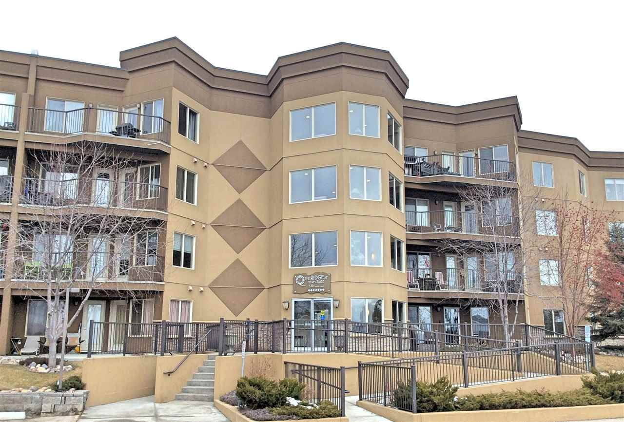 Main Photo: #215 530 HOOKE RD NW in Edmonton: Zone 35 Condo for sale : MLS(r) # E4007776