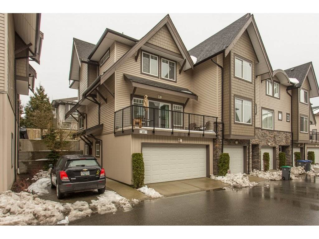 Main Photo: 43 6895 188 STREET in Surrey: Clayton Townhouse for sale (Cloverdale)  : MLS®# R2137821