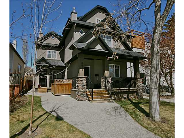 Main Photo: 3 2318 2 Avenue NW in CALGARY: West Hillhurst Townhouse for sale (Calgary)  : MLS(r) # C3567349