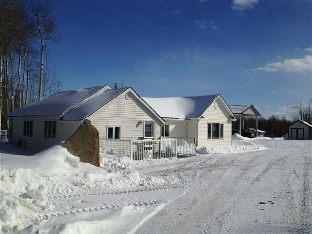 Main Photo: 13409 N 29 Highway in Fort St. John: Fort St. John - Rural W 100th House for sale (Fort St. John (Zone 60))  : MLS(r) # N225706