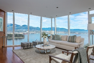 Main Photo: 3002 1281 Cordova Street in Vancouver: Coal Harbour Condo for sale (Vancouver West)  : MLS®# V1102159