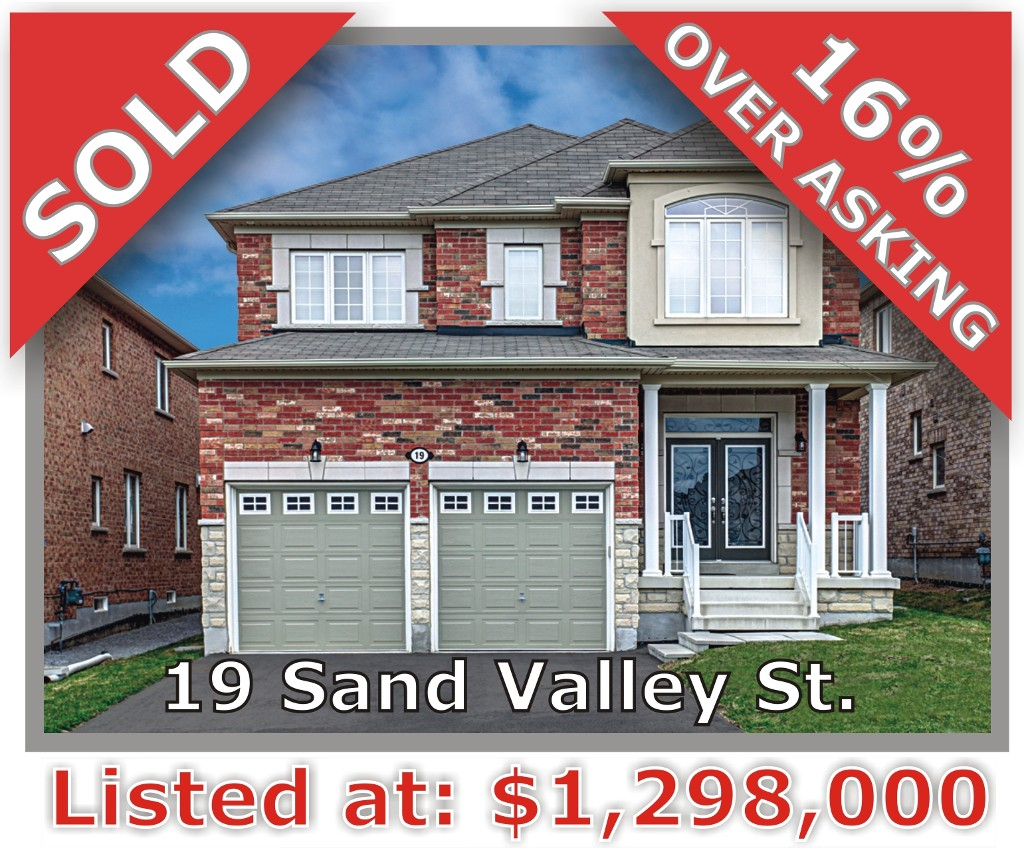 Main Photo: 19 Sand Valley St in Vaughan: Patterson Freehold for sale