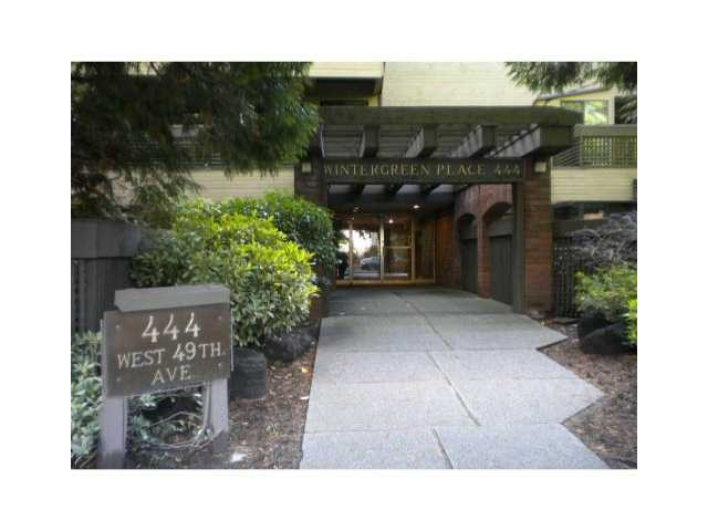 Main Photo: 211 444 W 49TH Avenue in Vancouver: South Cambie Condo for sale (Vancouver West)  : MLS® # V1024361