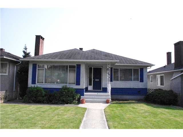 Main Photo: 150 E 62ND Avenue in Vancouver: South Vancouver House for sale (Vancouver East)  : MLS(r) # V960566