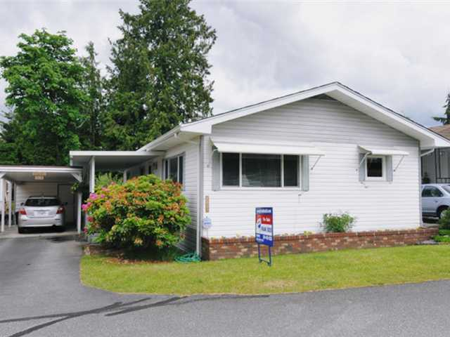 "Main Photo: 11832 PONDEROSA Boulevard in Pitt Meadows: Central Meadows Manufactured Home for sale in ""MEADOW HIGHLAND"" : MLS® # V952847"