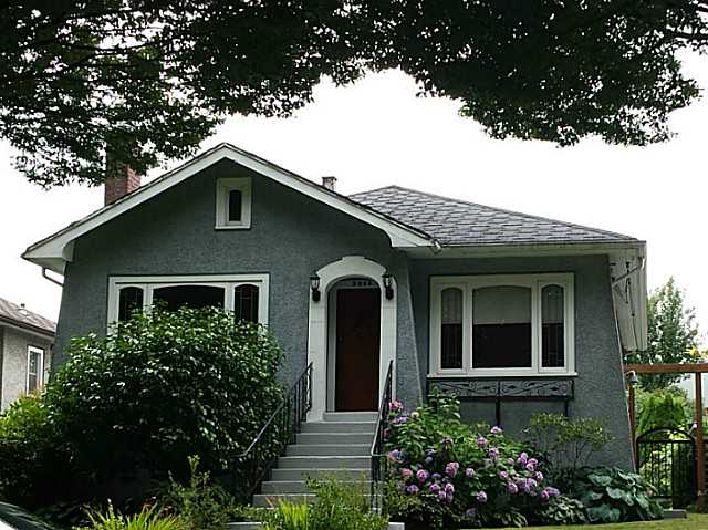 Main Photo: 2040 E 28TH Avenue in Vancouver: Victoria VE House for sale (Vancouver East)  : MLS® # V1022068