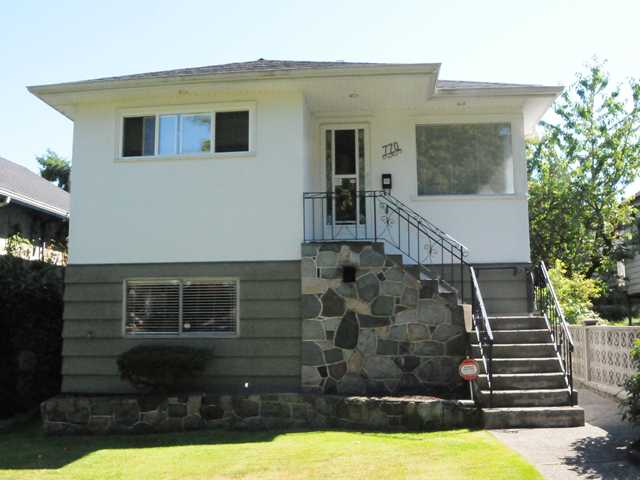 Main Photo: 770 E 22ND Avenue in Vancouver: Fraser VE House for sale (Vancouver East)  : MLS® # V1076056
