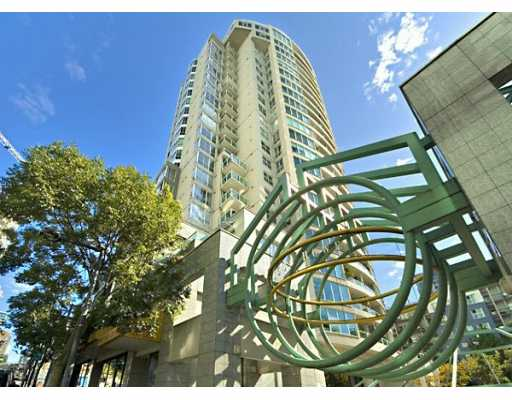 "Main Photo: 1605 1500 HOWE ST in Vancouver: False Creek North Condo for sale in ""THE DISCOVERY"" (Vancouver West)  : MLS®# V610831"