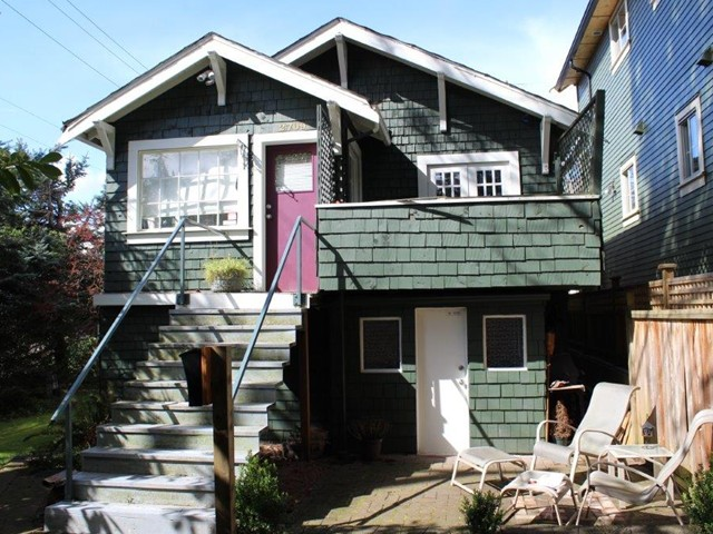 Main Photo: 2709 E 28TH AV in Vancouver: Renfrew Heights House for sale (Vancouver East)  : MLS® # V1061044