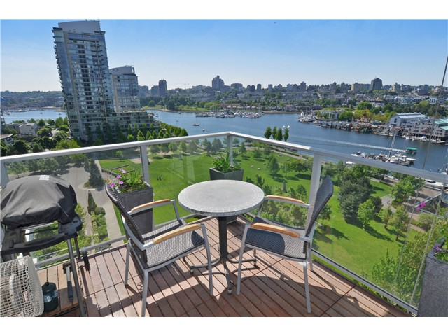 Photo 13: # 1206 638 BEACH CR in Vancouver: Yaletown Condo for sale (Vancouver West)  : MLS® # V1125146