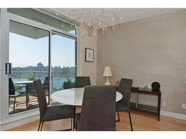 Photo 6: # 1206 638 BEACH CR in Vancouver: Yaletown Condo for sale (Vancouver West)  : MLS® # V1125146