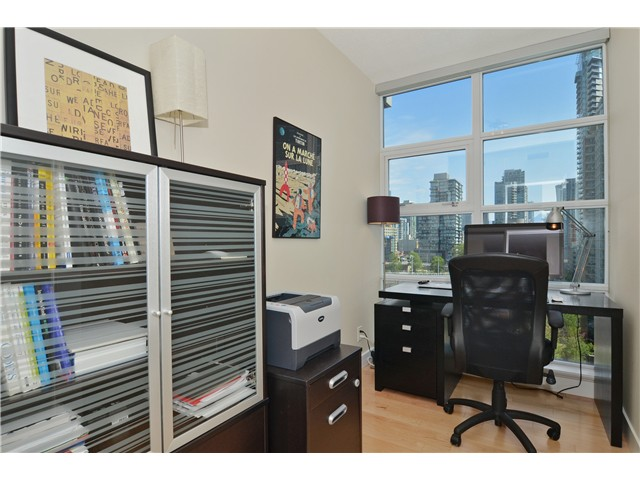 Photo 10: # 1206 638 BEACH CR in Vancouver: Yaletown Condo for sale (Vancouver West)  : MLS® # V1125146