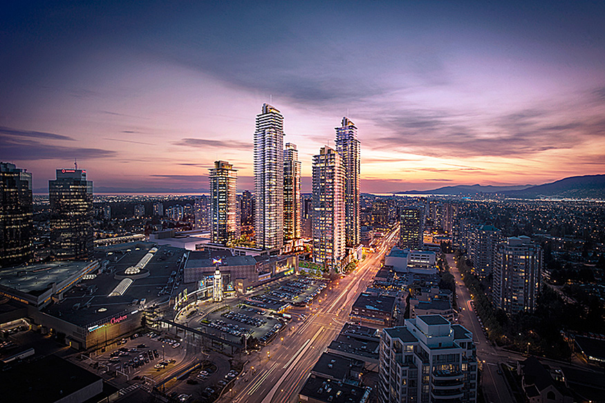 Main Photo: #1103 at STATION SQUARE 3 by ANTHEM AND BEEDIE GROUP in : Metrotown Condo  (Burnaby South)