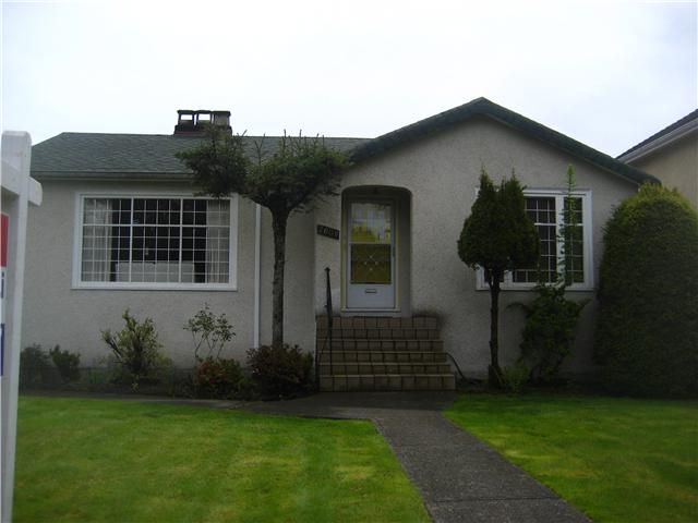 Main Photo: 2608 W 22ND Avenue in Vancouver: Arbutus House for sale (Vancouver West)  : MLS(r) # V946487