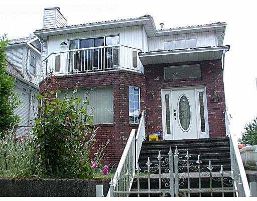 Main Photo: 5335 COMMERCIAL ST in Vancouver: Victoria VE House for sale (Vancouver East)  : MLS®# V541522
