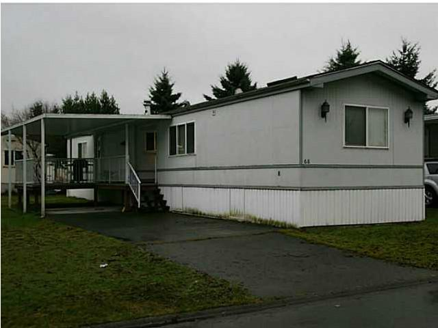 "Main Photo: 68 145 KING EDWARD Street in Coquitlam: Maillardville Manufactured Home for sale in ""MILL CREEK"" : MLS(r) # V1016125"