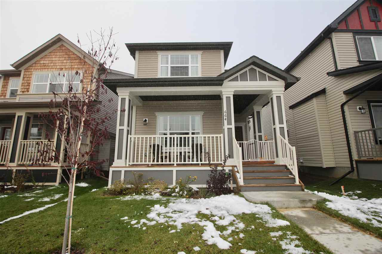 Main Photo: 664 SECORD BV NW in Edmonton: Zone 58 House for sale : MLS® # E4041563