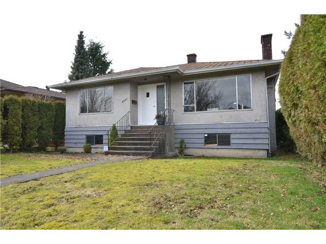 Main Photo: 3857 GLENDALE Street in Vancouver: Renfrew Heights House for sale (Vancouver East)  : MLS® # V934176