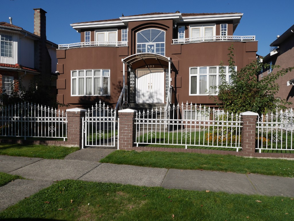 Main Photo: 3353 Queens Avenue in Vancouver: Collingwood House for sale (Vancouver East)  : MLS® # V1101431