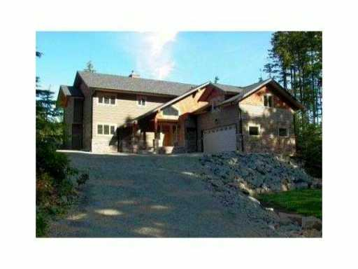 Main Photo: 410 SALAL Road: Bowen Island House for sale : MLS® # V1028426