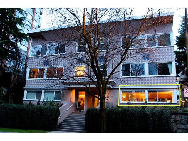 Main Photo: # 5 1878 ROBSON ST in Vancouver: West End VW Condo for sale (Vancouver West)  : MLS®# V1105076