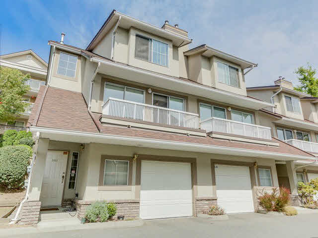 Main Photo: 3433 AMBERLY PLACE in Vancouver: Champlain Heights Townhouse for sale (Vancouver East)  : MLS® # V1141286