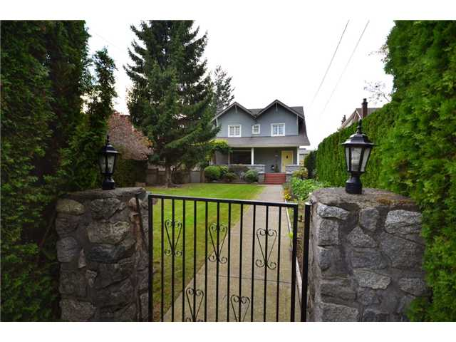 "Main Photo: 5897 MACDONALD Street in Vancouver: Kerrisdale House for sale in ""KERRISDALE"" (Vancouver West)  : MLS(r) # V931581"