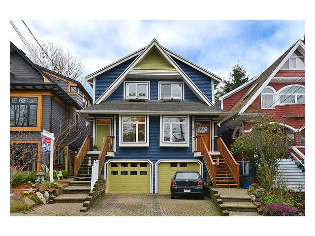 Main Photo: 1530 KITCHENER Street in Vancouver: Grandview VE House 1/2 Duplex for sale (Vancouver East)  : MLS® # V993272