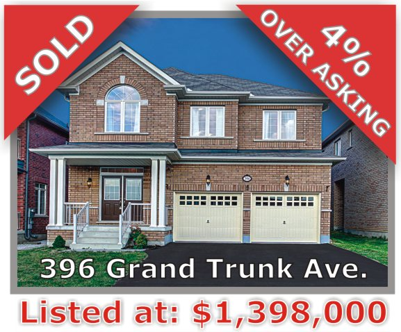 Main Photo: 396 Grand Trunk Avenue in Vaughan: Patterson Freehold for sale