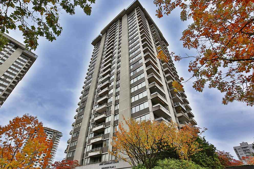 Main Photo: 1108 3980 CARRIGAN COURT in Burnaby: Government Road Condo for sale (Burnaby North)  : MLS®# R2115995