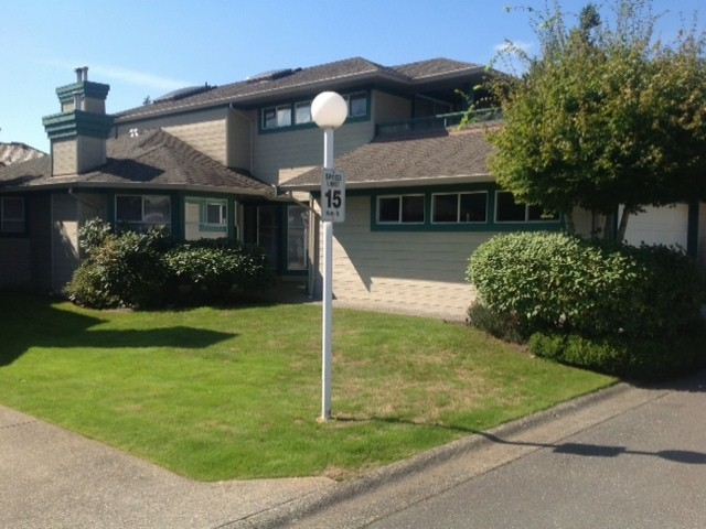 "Main Photo: 124 16080 82ND Avenue in Surrey: Fleetwood Tynehead Townhouse for sale in ""Ponderosa Estates"" : MLS® # F1321774"