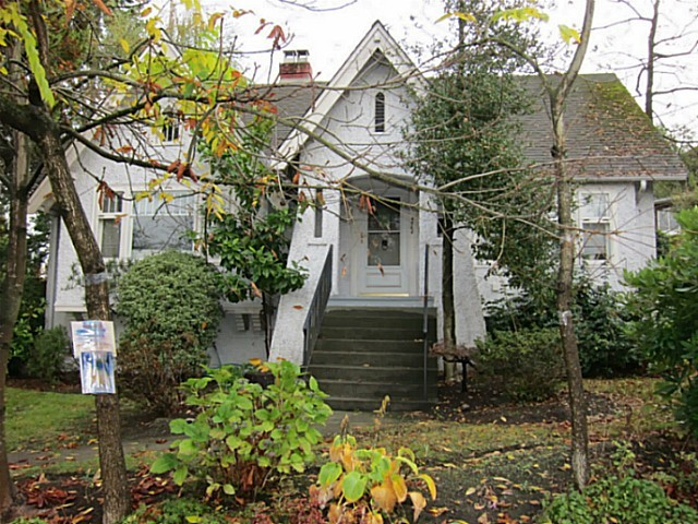 Main Photo: 4962 ARBUTUS ST in Vancouver: Quilchena House for sale (Vancouver West)  : MLS®# V999587