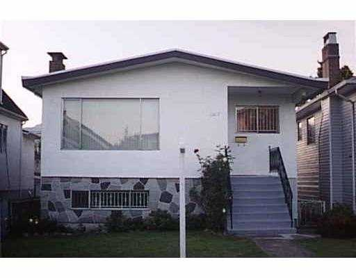 Main Photo: 2517 ADANAC ST in Vancouver: Renfrew VE House for sale (Vancouver East)  : MLS® # V550701