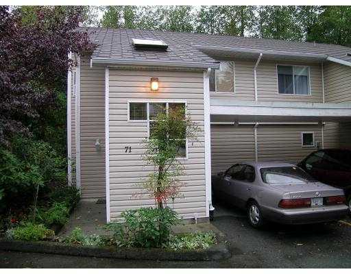 "Main Photo: 71 1235 LASALLE PL in Coquitlam: Canyon Springs Townhouse for sale in ""CREEKSIDE PLACE"" : MLS® # V561297"