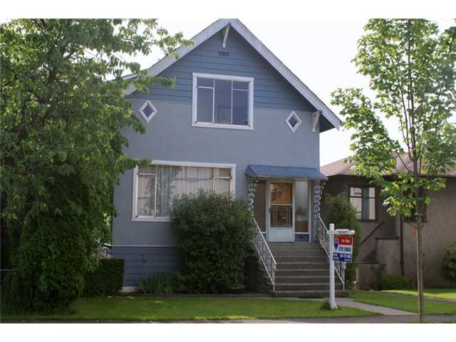 Photo 1: 3855 TUPPER Street in Vancouver: Cambie House for sale (Vancouver West)  : MLS(r) # V959153