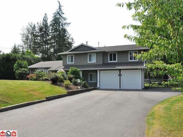"Main Photo: 22848 76B CR in Langley: Fort Langley House for sale in ""Forest Knolls"" : MLS(r) # F1301812"