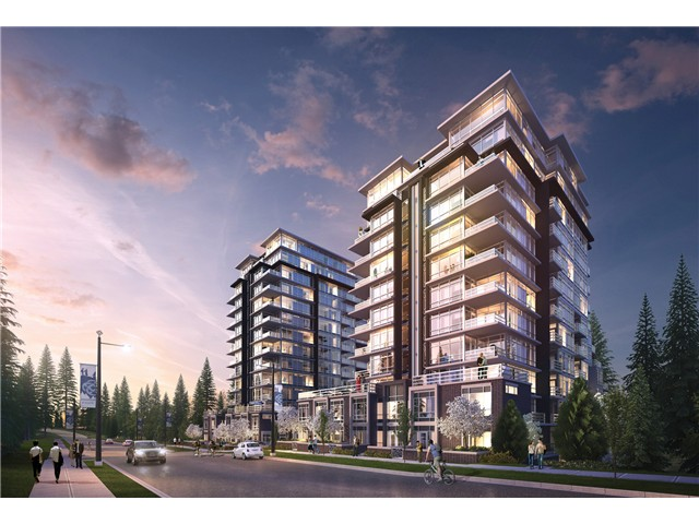 Main Photo: # 1601 9060 UNIVERSITY CR in Burnaby: Simon Fraser Univer. Condo for sale (Burnaby North)  : MLS® # V1119886