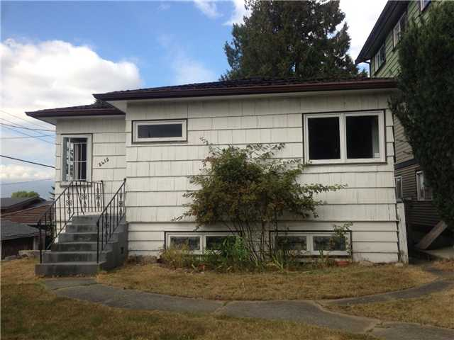 Main Photo: 2415 E 29TH Avenue in Vancouver: Collingwood VE House for sale (Vancouver East)  : MLS® # V974591