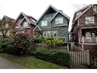 Main Photo: 1632 GRANT ST in Vancouver: Grandview VE Condo for sale (Vancouver East)  : MLS®# V1038932
