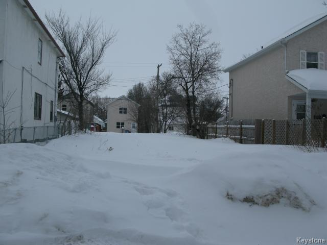 Main Photo: 89 Lorne Avenue in WINNIPEG: North End Vacant Land for sale (North West Winnipeg)  : MLS®# 1402986