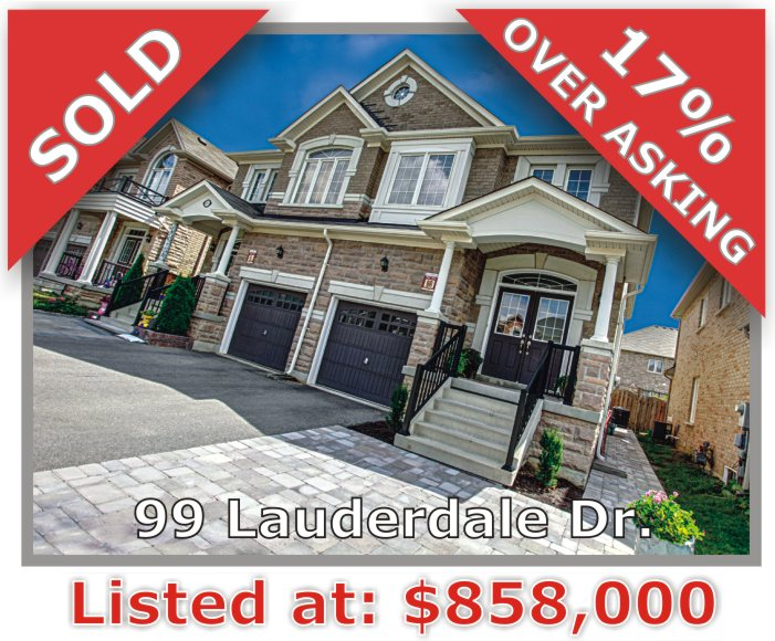 Main Photo: 99 Lauderdale Dr in Vaughan: Patterson Freehold for sale