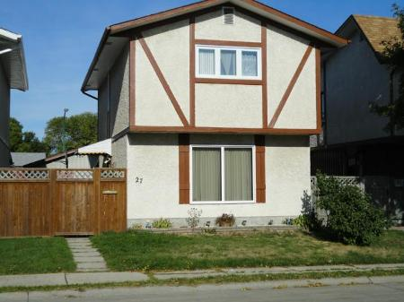 Main Photo: 27 BREWER Crescent: Residential for sale (North Kildonan)  : MLS® # 1119570