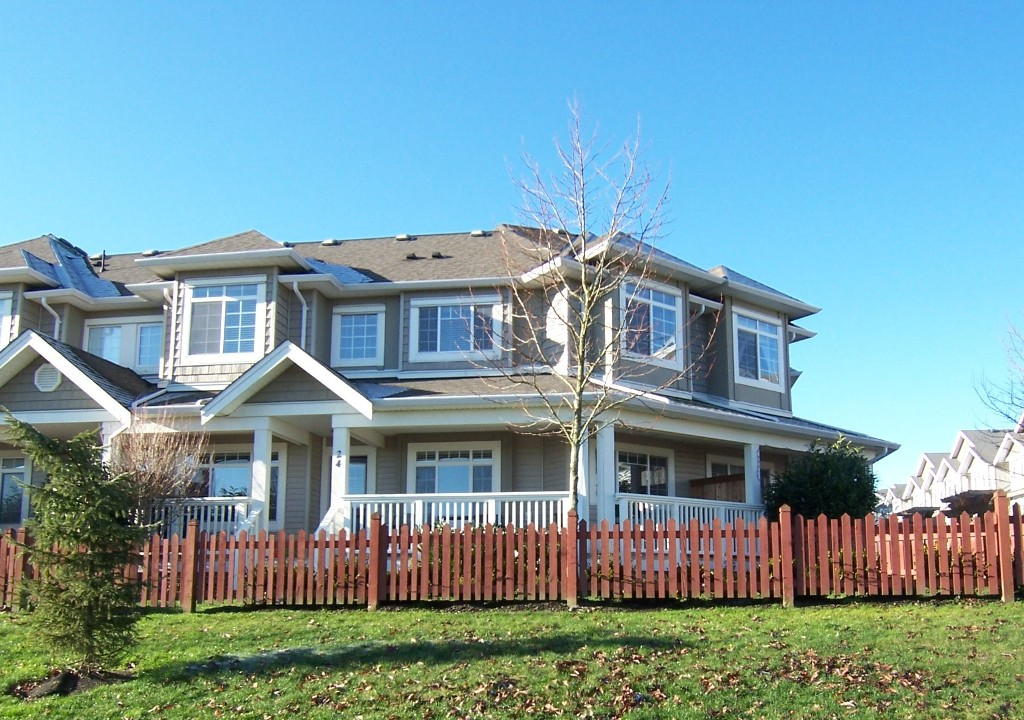 "Main Photo: # 24 6852 193RD ST in Surrey: Clayton Condo for sale in ""INDIGO"" (Cloverdale)  : MLS® # F1301220"