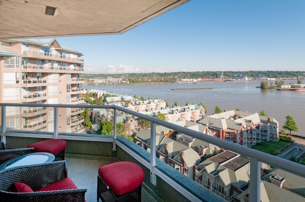 "Main Photo: # 1806 1245 QUAYSIDE DR in New Westminster: Quay Condo for sale in ""THE RIVIERA"" : MLS® # V1008511"