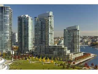 Main Photo: 432 BEACH CR in Vancouver: Yaletown Townhouse for sale (Vancouver West)  : MLS®# V1058362