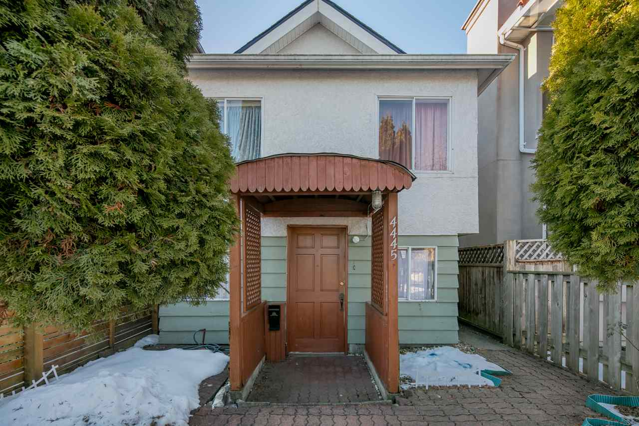 Main Photo: 4445 WALDEN STREET in Vancouver: Main House for sale (Vancouver East)  : MLS® # R2130301