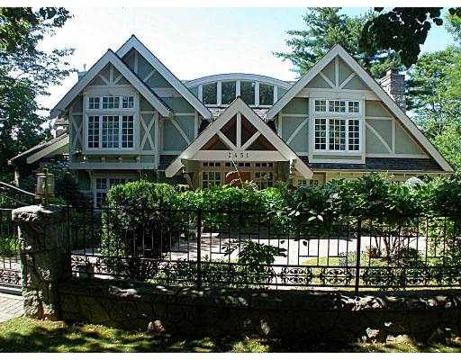 Main Photo: 3451 PINE CR in Vancouver: Shaughnessy House for sale (Vancouver West)  : MLS® # V550154