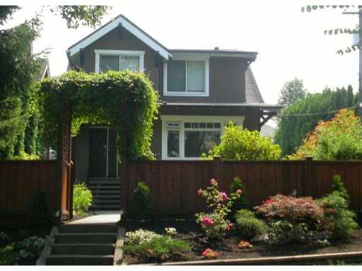 Main Photo: 978 W 23RD AV in : Cambie House for sale : MLS®# V844316